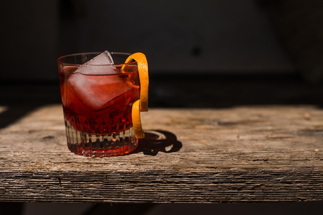 In the mix: the mighty Negroni