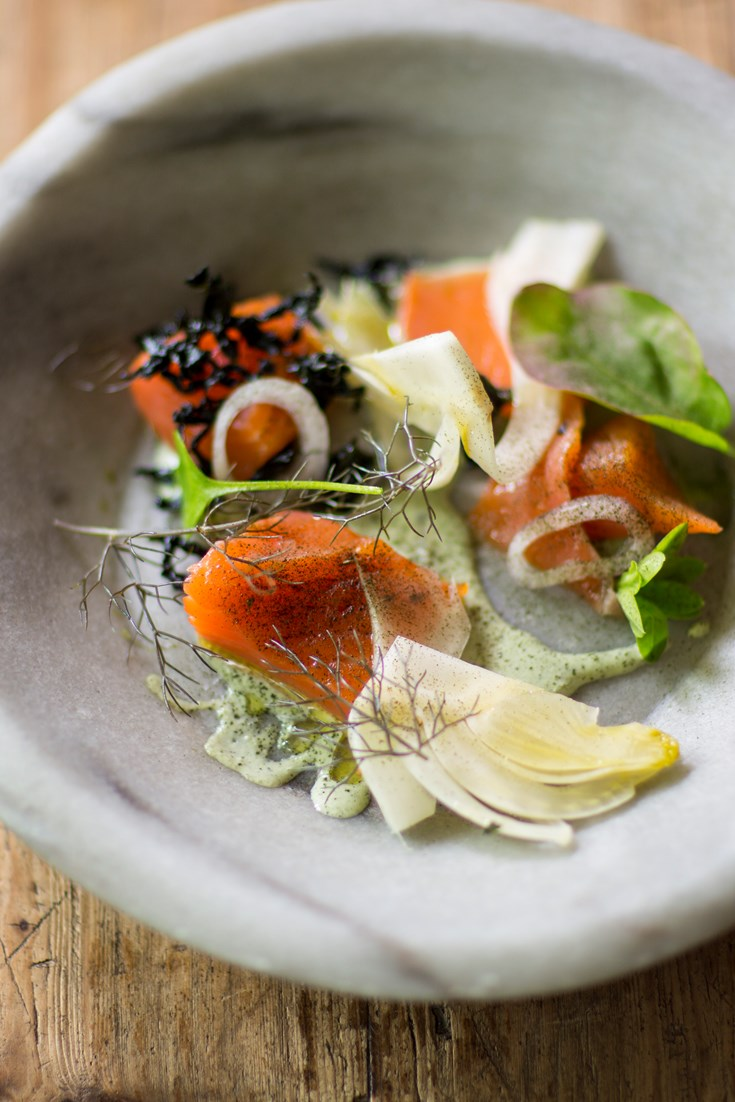 Cured And Smoked Salmon Recipe Great British Chefs