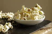 Sweet and salty nori popcorn