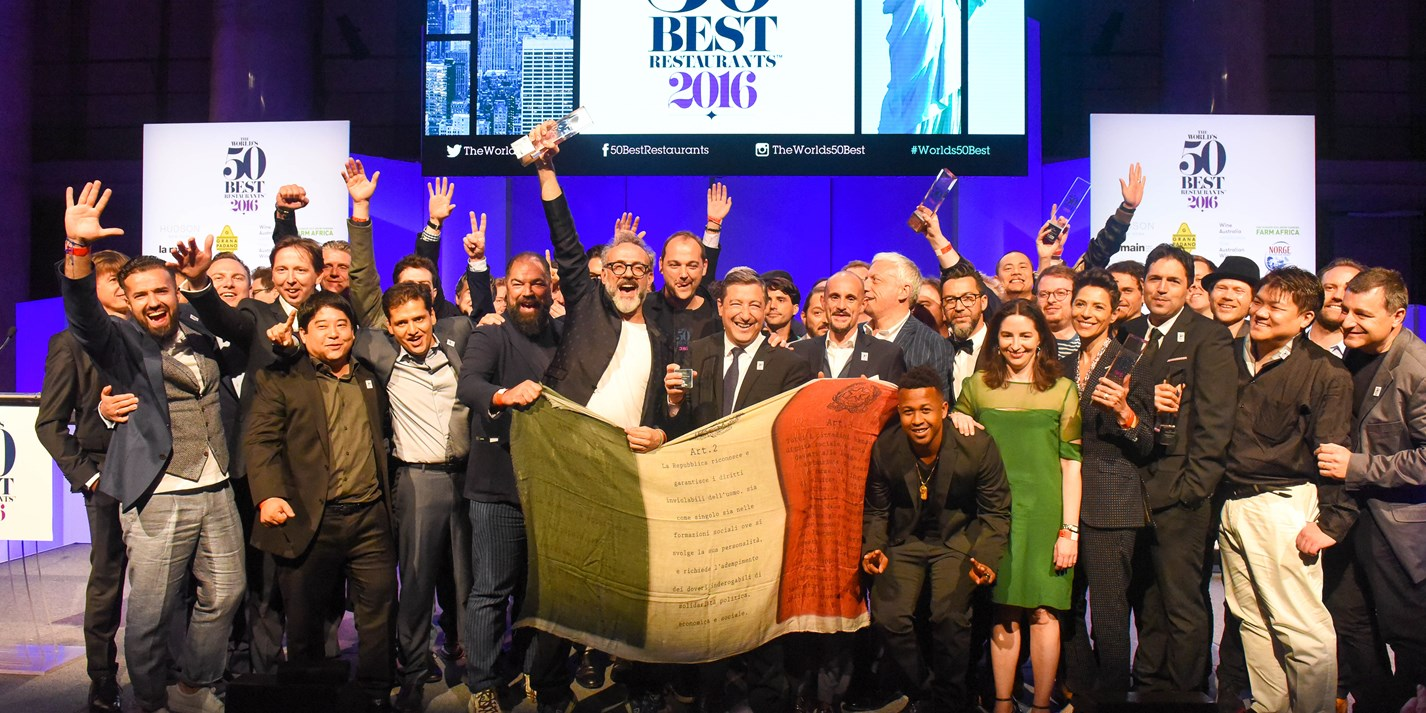 The World's 50 Best Restaurants 2016