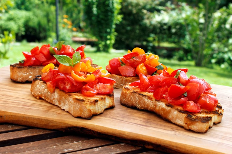 Tomato Bruschetta Recipe Great Italian Chefs