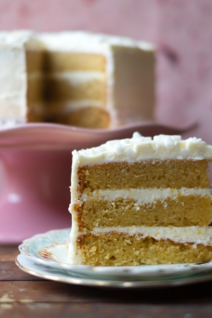 Easy Vanilla Cake Recipe - Great British Chefs