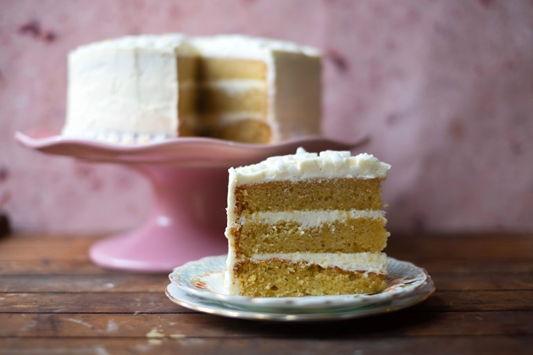 Easy Vanilla Cake Recipe Great British Chefs