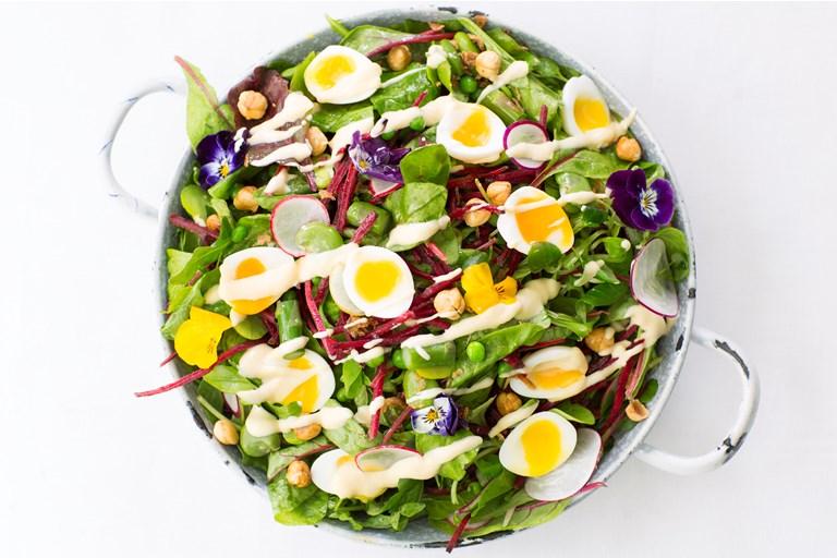 English Garden Salad Recipe - Great British Chefs