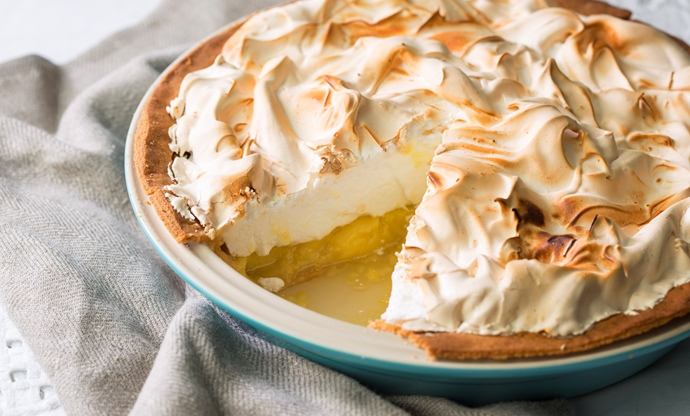 Ultimate lemon meringue pie recipe