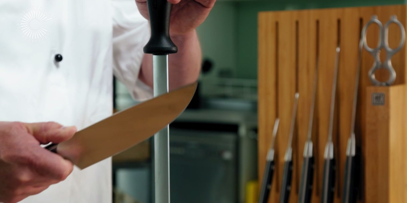 How to Sharpen a Knife Video - Great British Chefs