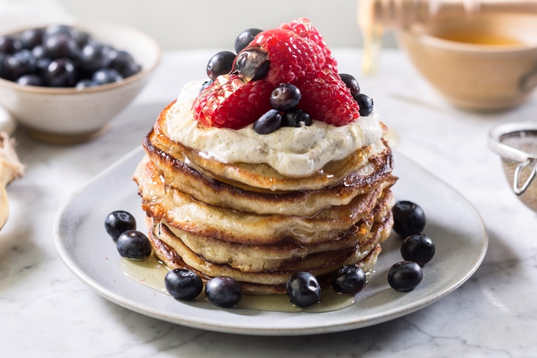 The Perfect Banana Pancakes Recipe Great British Chefs