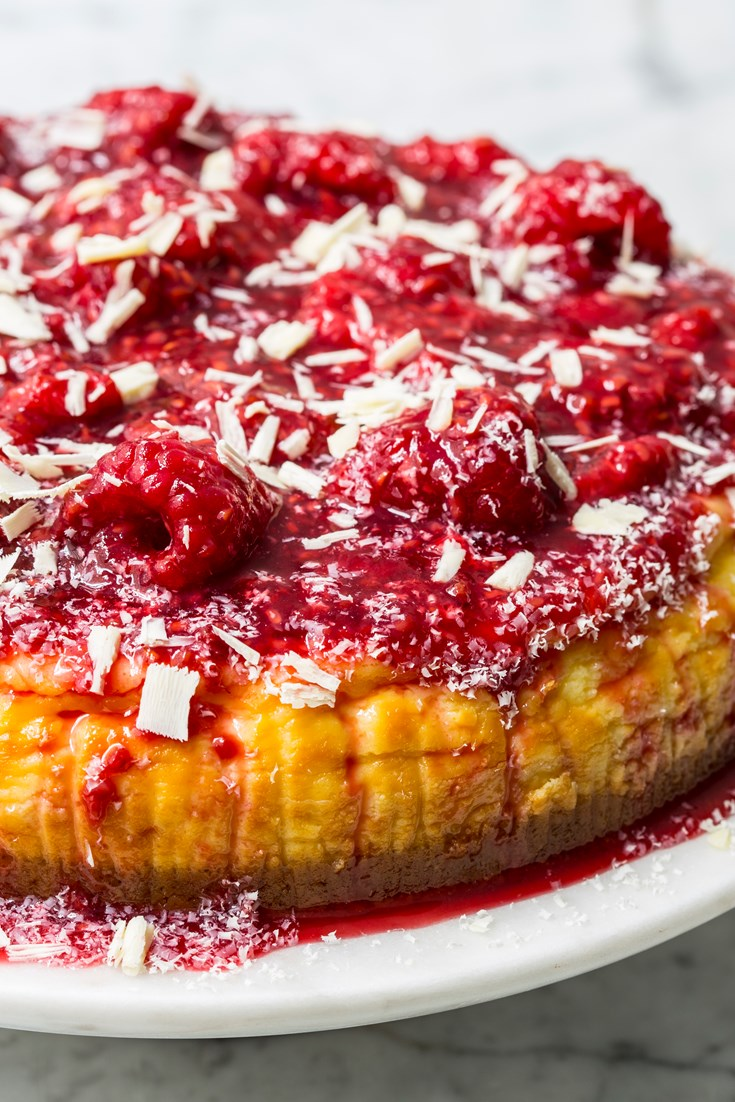 Raspberry And White Chocolate Cheesecake Recipe Great