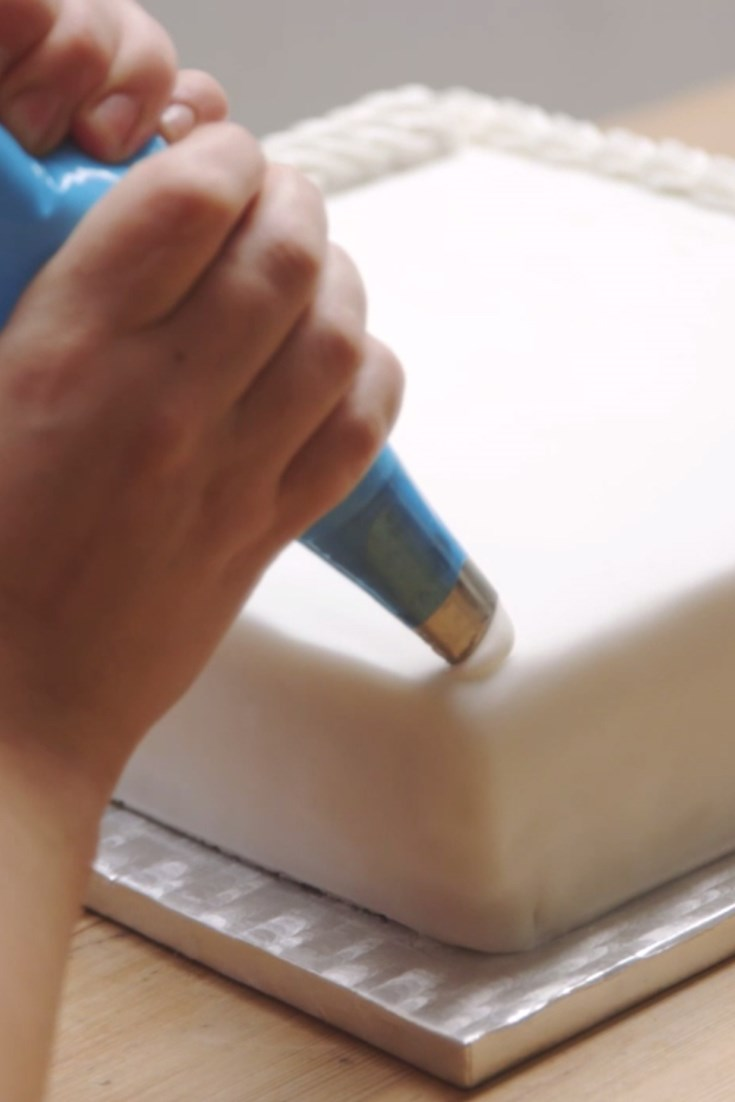 Cake Decorating Binder How To Use : How to Decorate Cakes with Royal Icing Video - Great ...