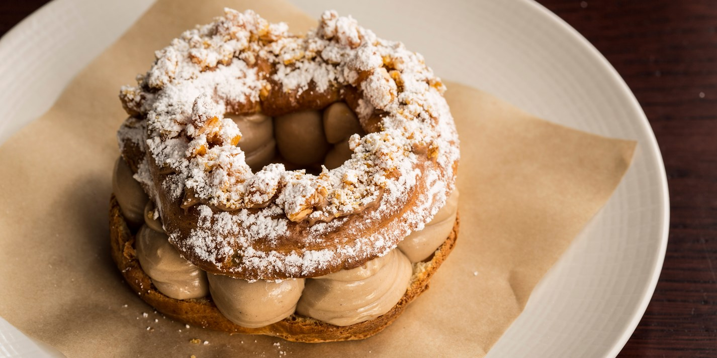 classic paris brest recipe great british chefs. Black Bedroom Furniture Sets. Home Design Ideas