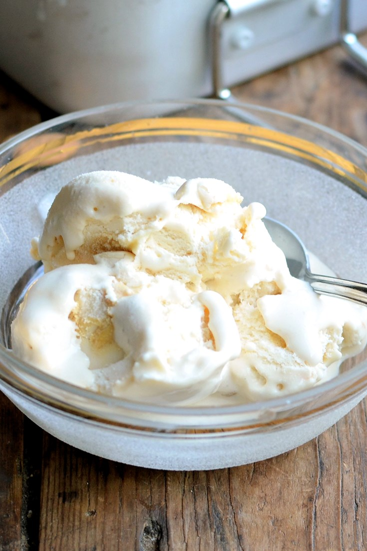 Dairy Free Ice Cream Recipe Almond Milk Ice Cream Great British Chefs