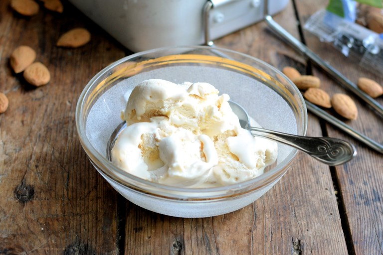 Dairy-Free Ice Cream Recipe: Almond