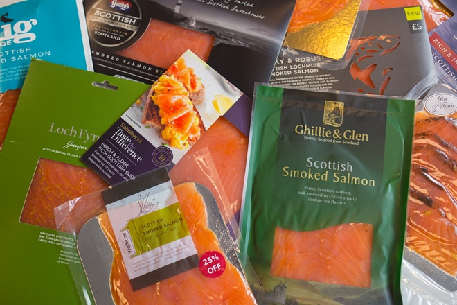 Christmas taste test: smoked salmon