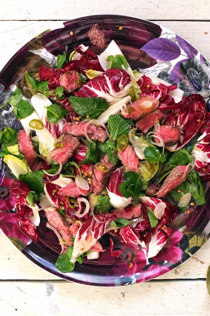 Steak Salad Recipe Great British Chefs