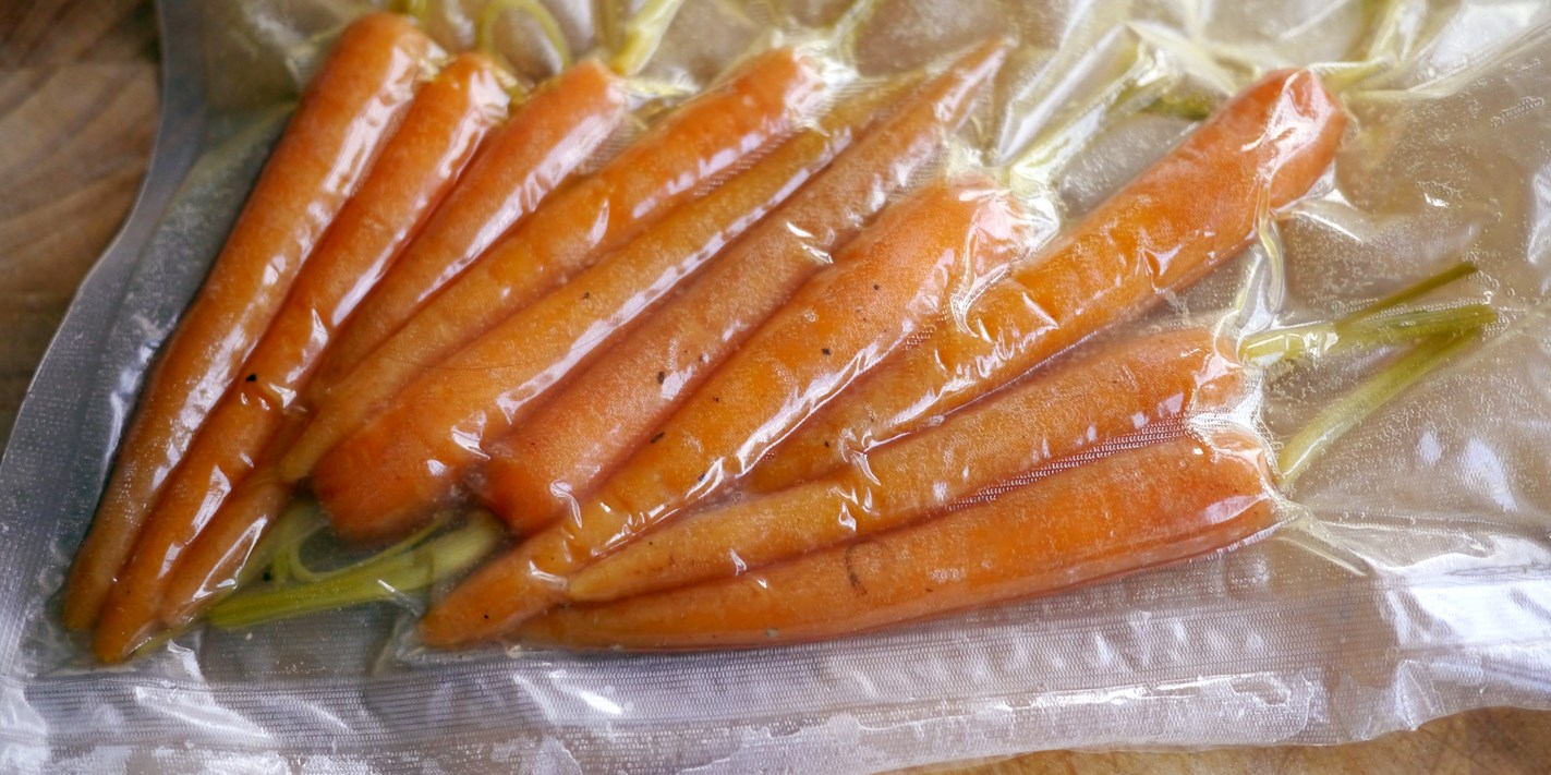 How to cook vegetables sous vide