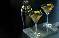 Ice wine martini