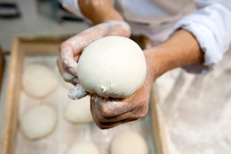 Franco Pepe's pizza dough