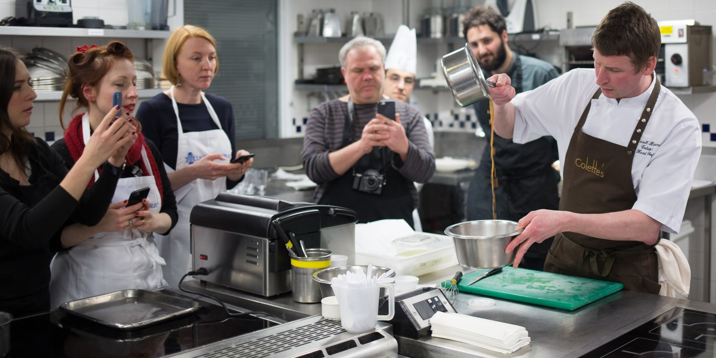 Cook school confidential: cooking sous vide