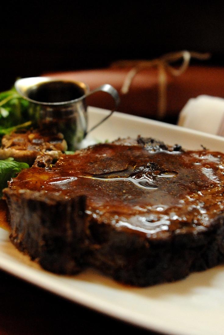 Sous Vide Rib-Eye Steak with Chimichurri Recipe - Great British Chefs