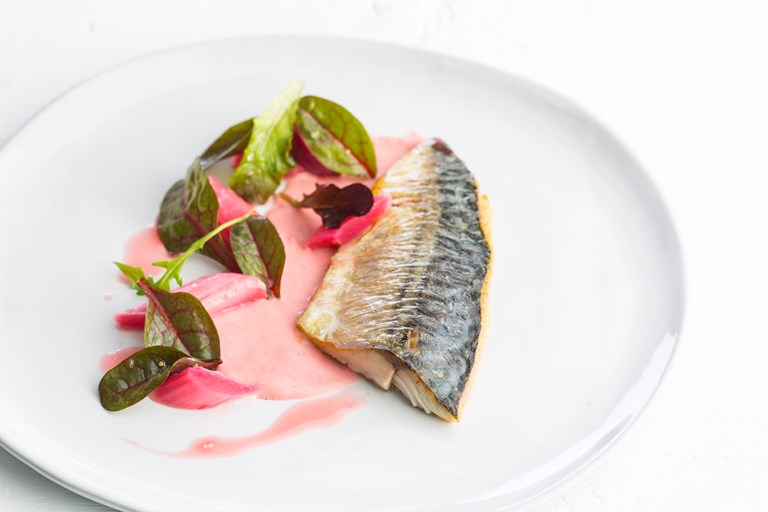 Mackerel With Rhubarb Recipe Great British Chefs