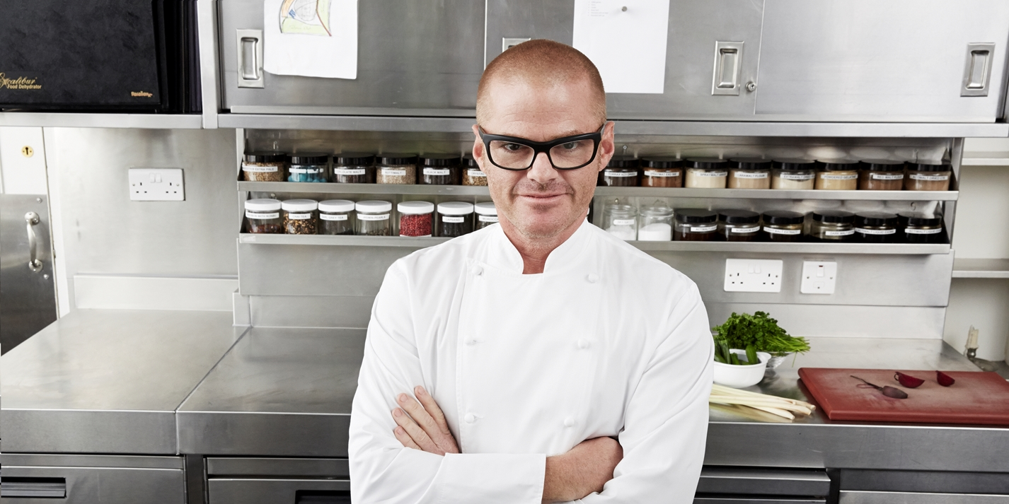 Heston blumenthal great british chefs for Cuisinier vegetarien