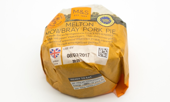 Image result for M&S pork pies