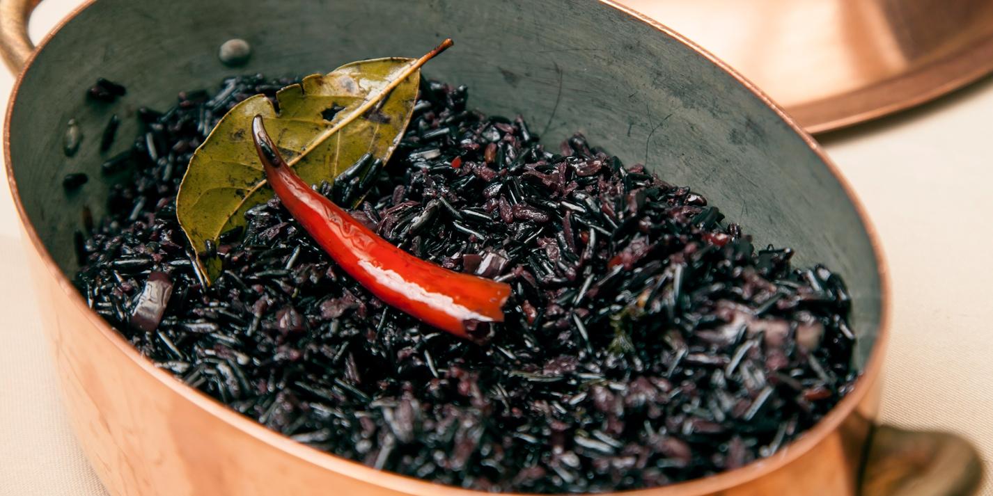 Black Camargue Rice Recipe Great British Chefs