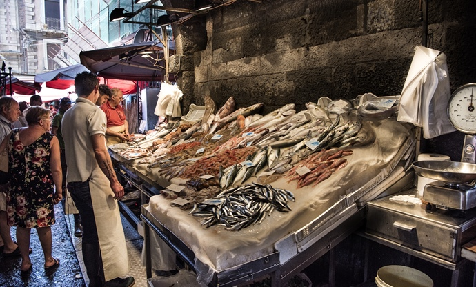 Pesce crudo: Sicily's love for raw fish