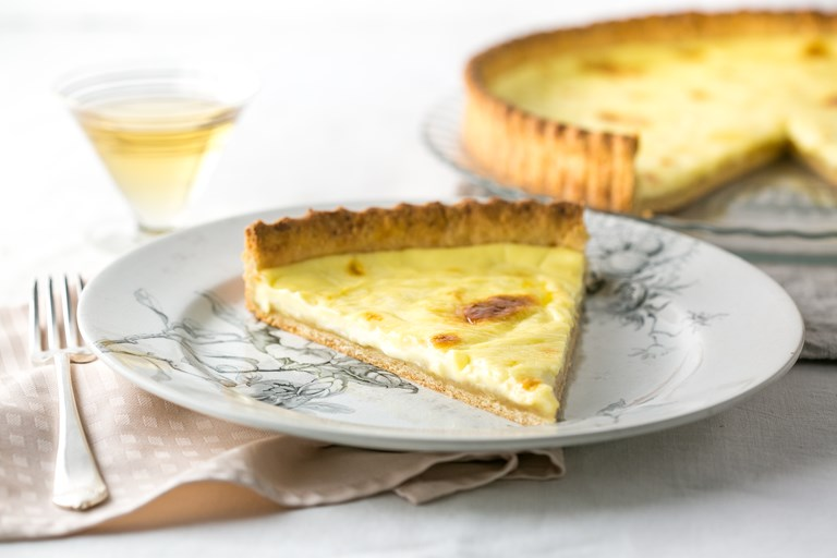 La tarte Vaudoise à la crème - Cream tart from the Vaud region