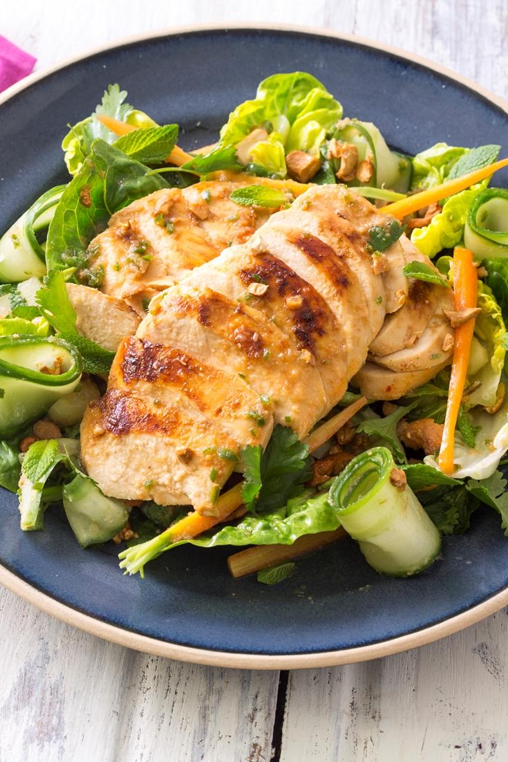 Thai Chicken Salad Recipe - Great British Chefs