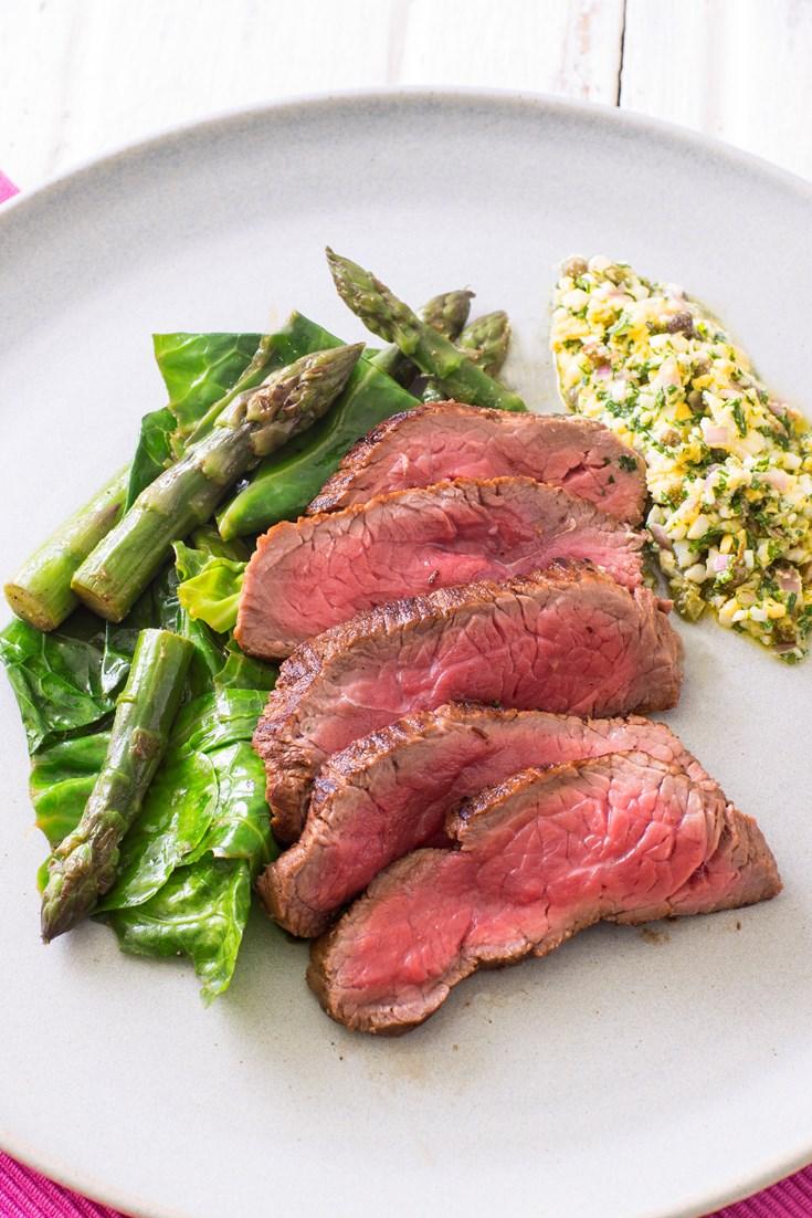 Flash-Fried Rump Steak Recipe - Great British Chefs