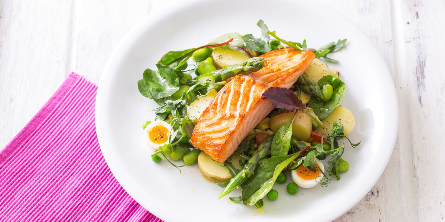 Pan Roasted Salmon Recipe Great British Chefs