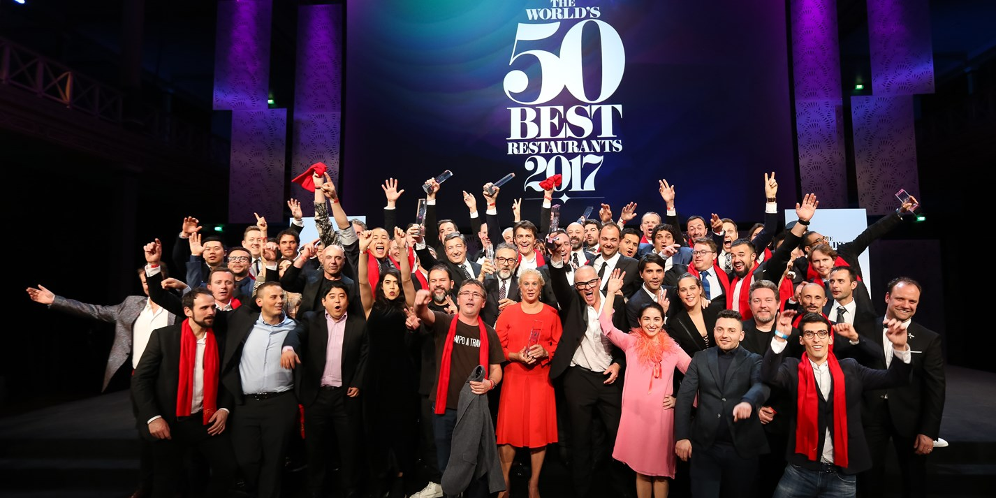 The World's 50 Best Restaurants 2017: the results