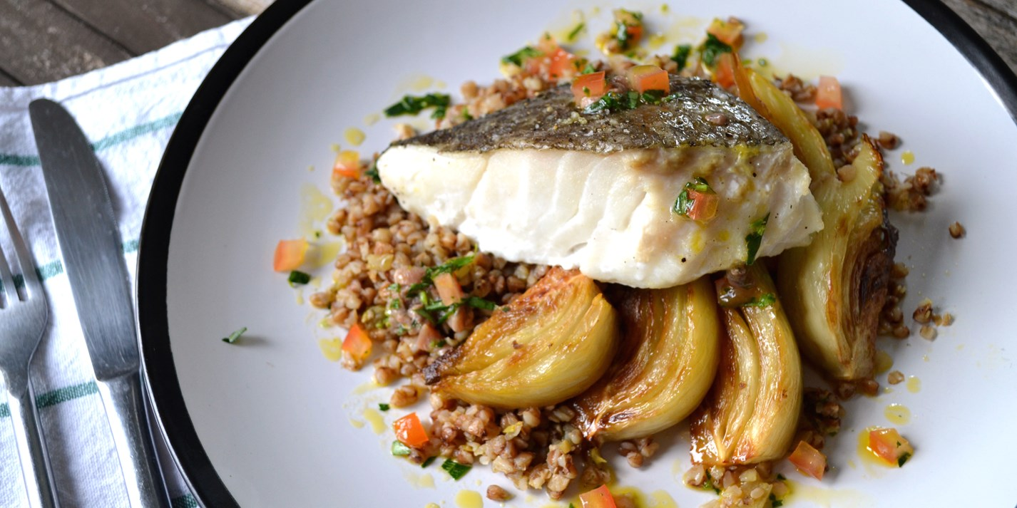 Roast Cod Loin Recipe With Fennell Great British Chefs