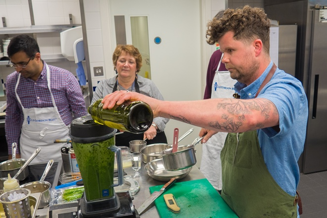 Cook school confidential: cooking with asparagus
