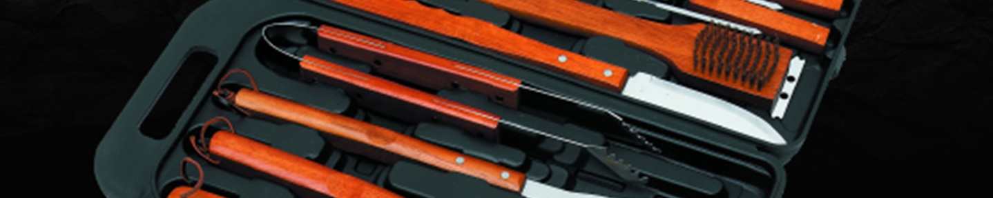 Win an 18-piece Landmann barbecue tool set