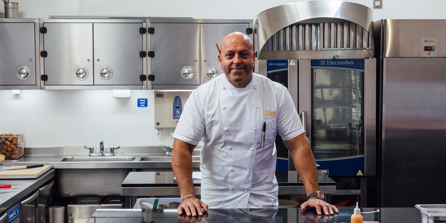Sat Bains and the science behind his tasting menu