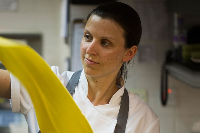 Pip Lacey: the t-shirt designer turned head chef of Murano