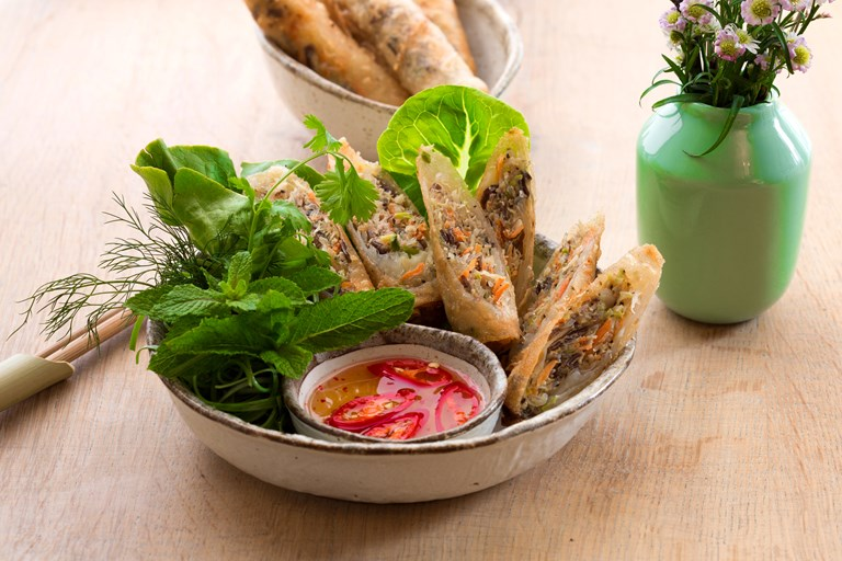 Vietnamese Spring Rolls Recipe Great British Chefs