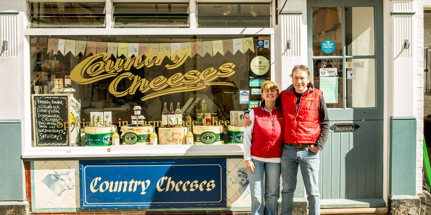 Britain's best cheesemongers: Country Cheeses