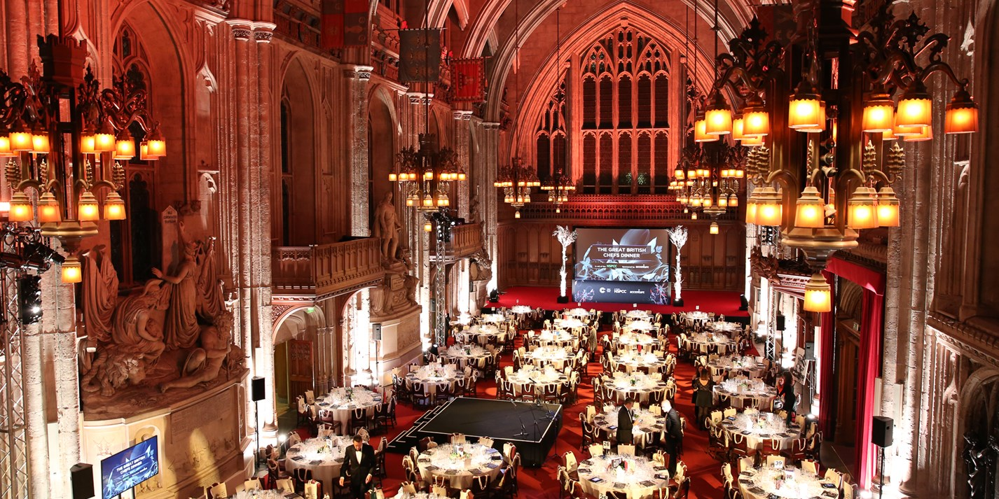 The Great British Chefs NSPCC Dinner 2017