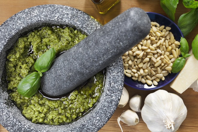 The power of pesto