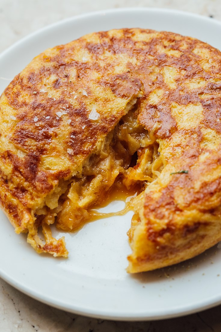 How to make a spanish omelette video