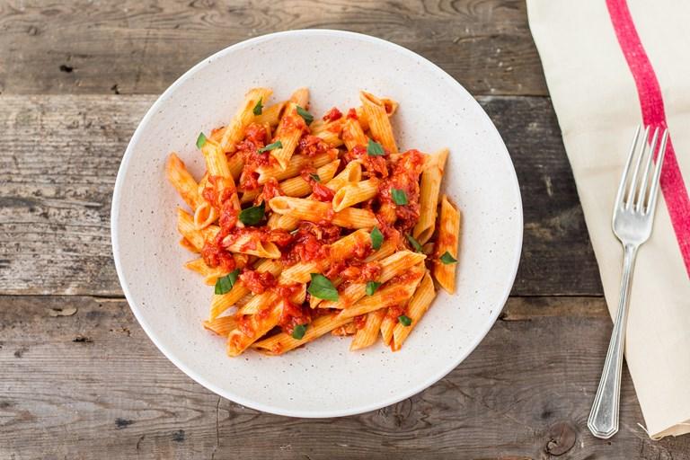 Penne All'Arrabbiata Recipe - Great Italian Chefs