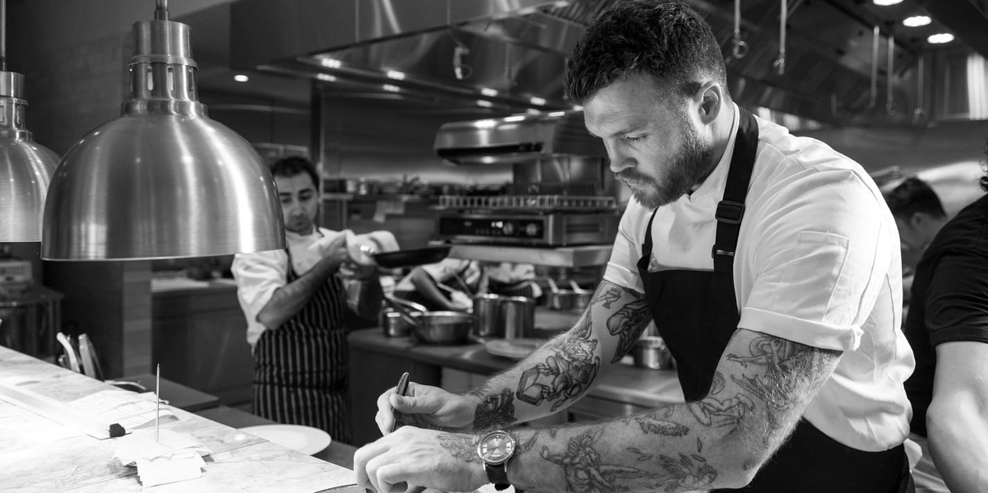 03bb357b18 Tom Brown Chef - Great British Chefs