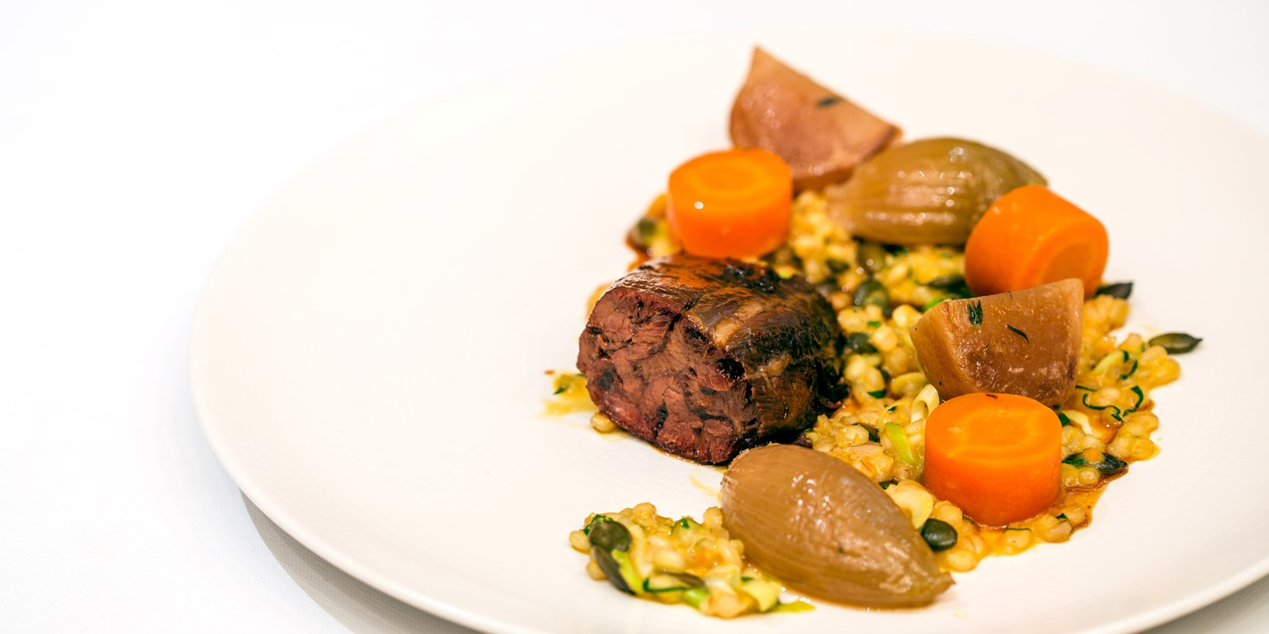 Red Wine Risotto with Braised Beef and Mushrooms   Cook's ...