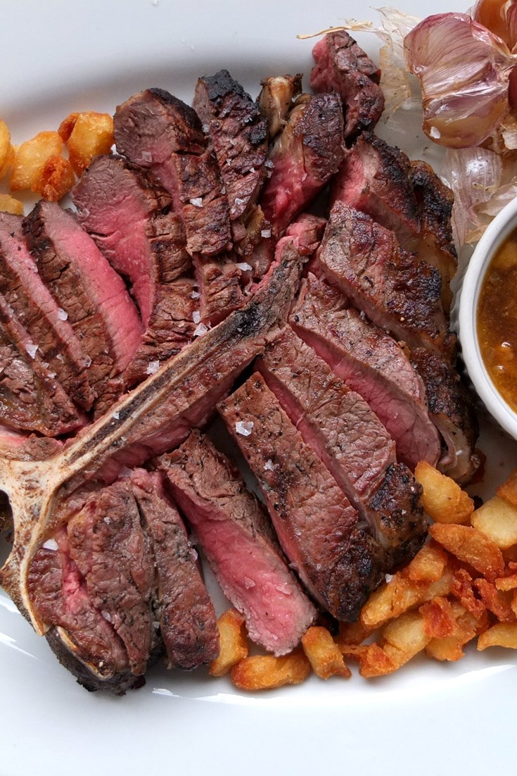 Porterhouse Steak Recipe With Beer Sauce Great British Chefs