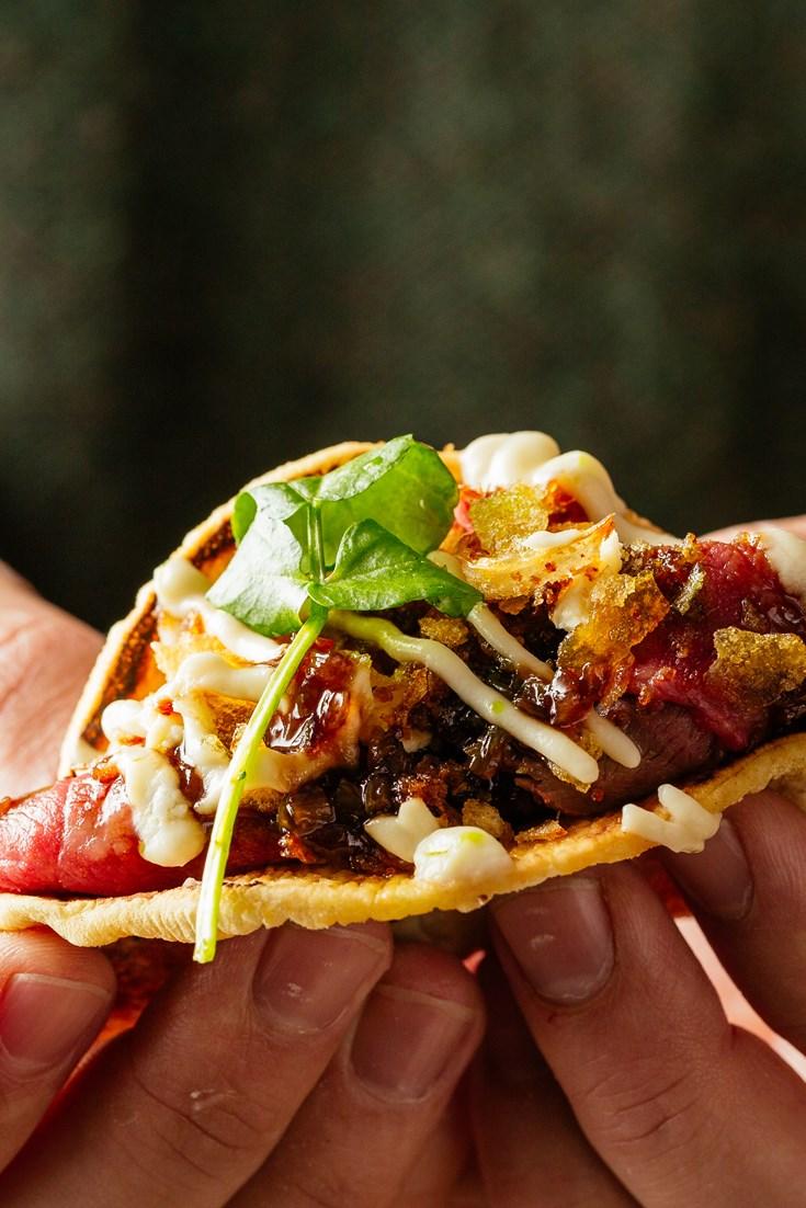 Beef Topside Taco Recipe - Great British Chefs