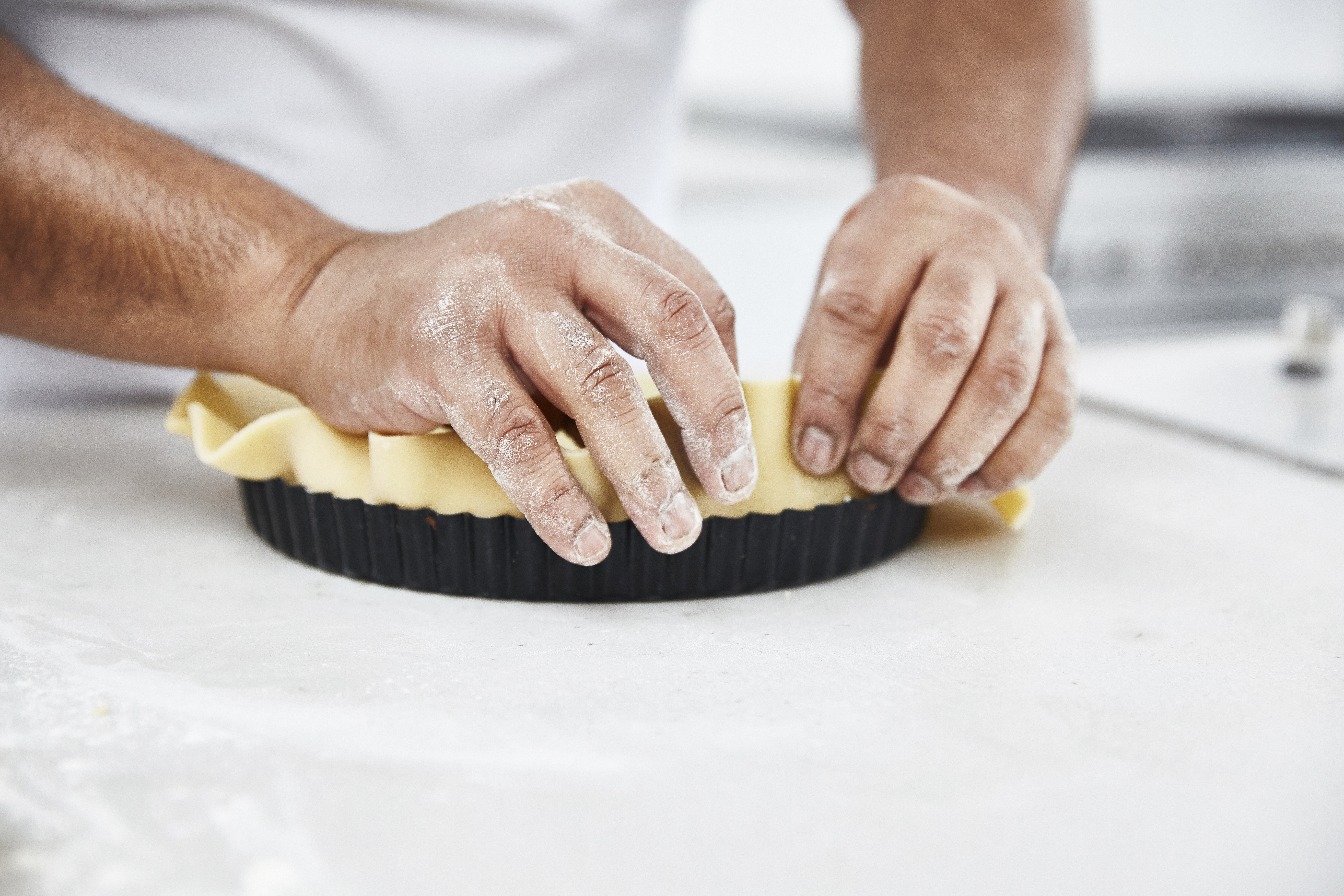 How To Line A Tart Tin Great British Chefs