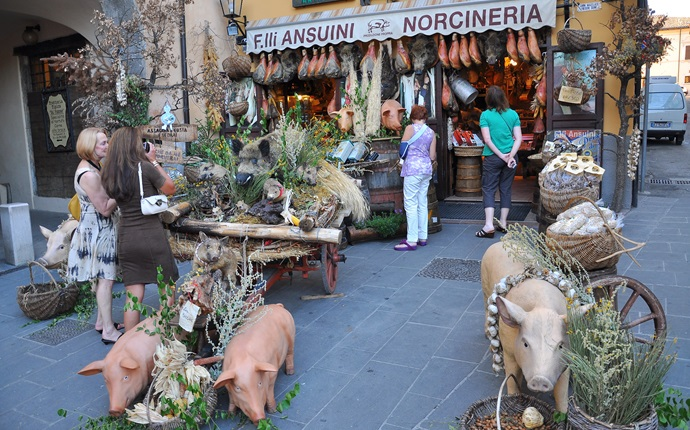 Norcia: Italy's capital of pork